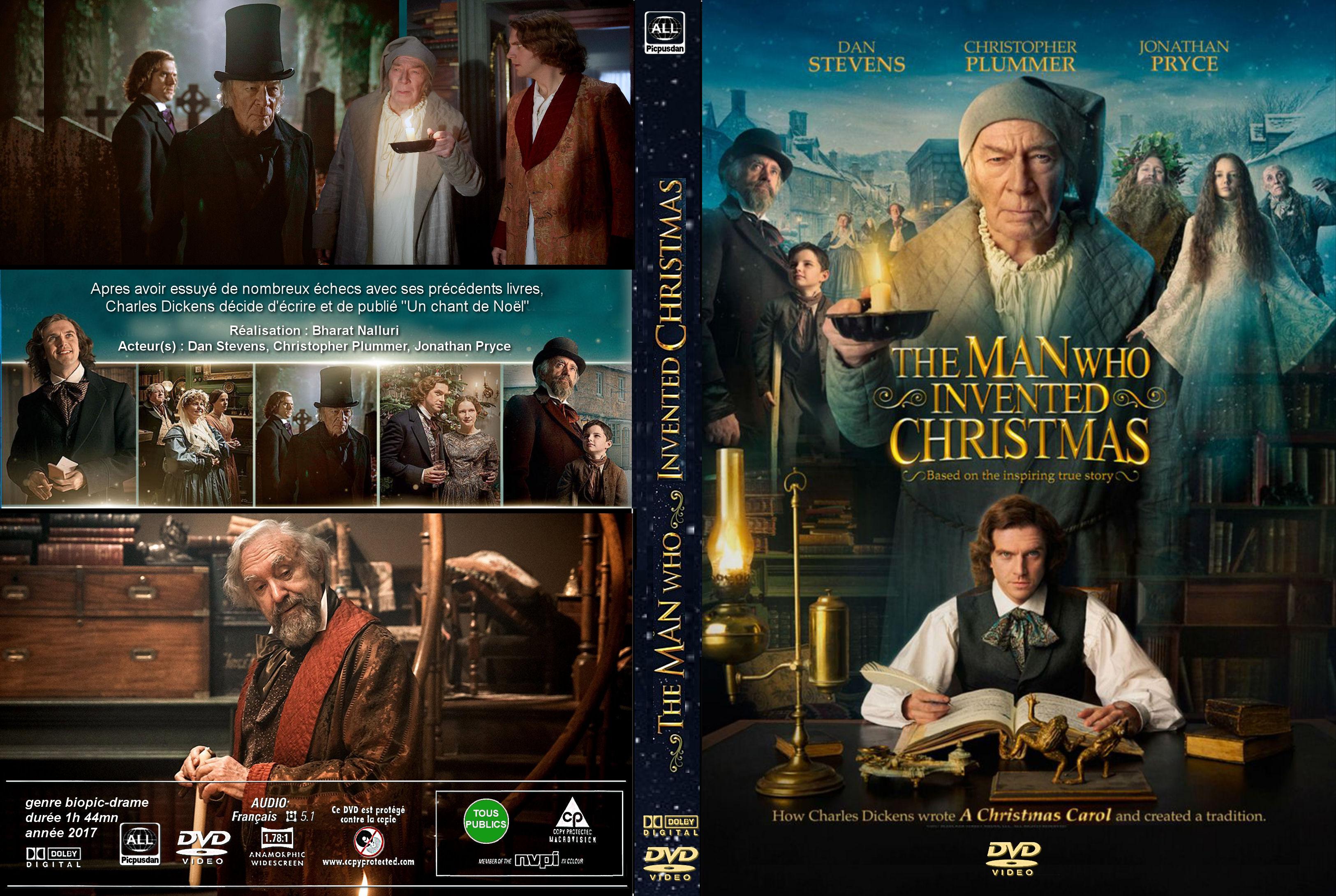 The Man Who Invented Christmas Dvd.Recherchez Votre Jaquette Dvd Ou Divx Sur Le Moteur De